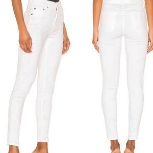 REVOLVE pistola white skinny jeans size 30